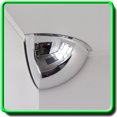 Quarter Dome Safety Mirror